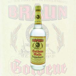 Braun Goldene Meile Doppel Korn 0,7L Flasche
