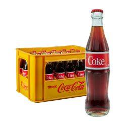 Coca Cola 24 x 0,33L Glas coke