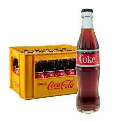 Coca-Cola Zero 24 x 0,33L Glas coke