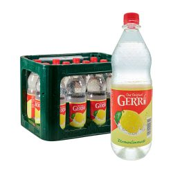 Gerri Zitronenlimonade 12 x 1L zitronen limo limonade das original