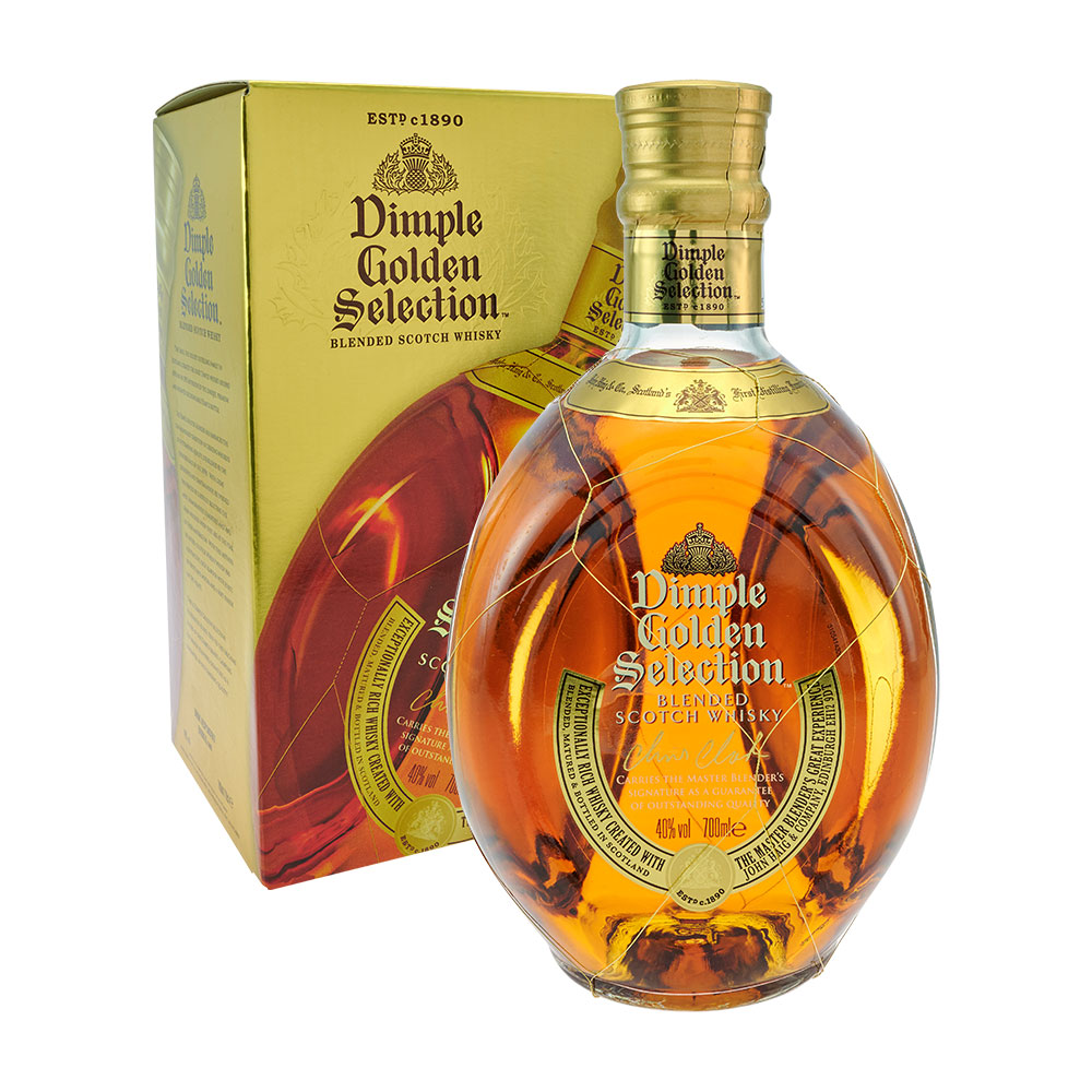 Dimple Golden Selection Blended Scotch Whisky 0,7 liter