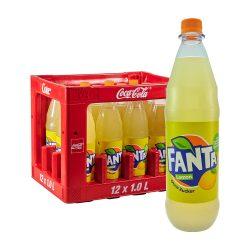 Fanta Lemon Ohne Zucker 12 x 1L limo limonade