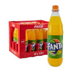 Fanta Mango Ohne Zucker 12 x 1L