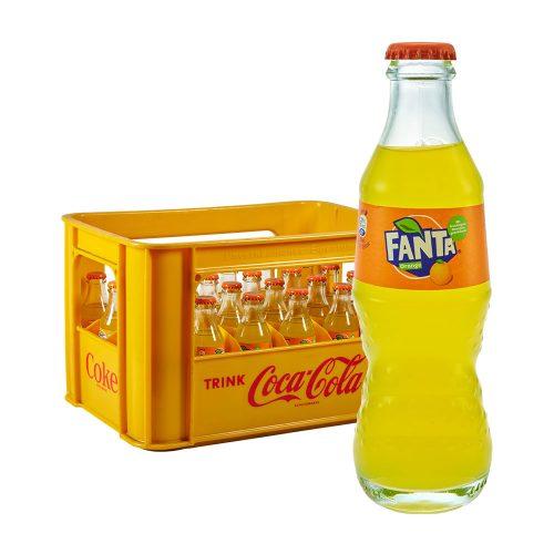 Fanta Orange 24 x 0,2L Glas limonade limo