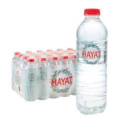 Hayat Natürliches Mineralwasser Naturell 24 x 0,5L still