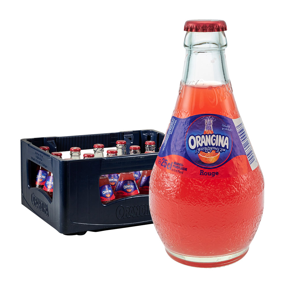 Orangina 15 x 0,25L rouge limonade limo