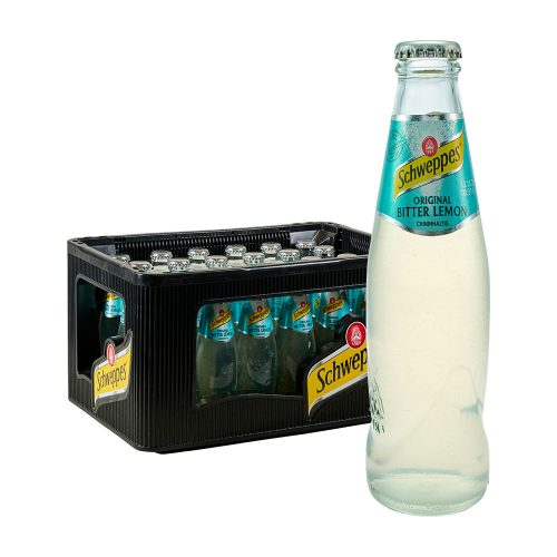 Schweppes Original Bitter Lemon 24 x 0,2L Glas