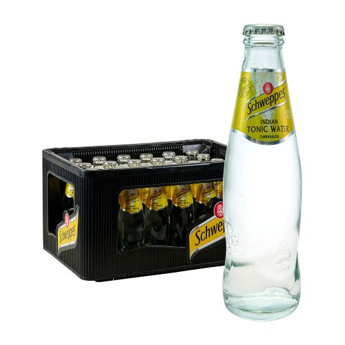 Schweppes Indian Tonic Water 24 x 0,2L Glas