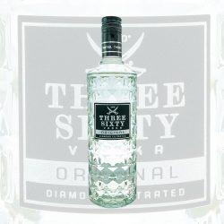 Three Sixty Vodka Diamond Filtarted 0,7 Flasche wodka