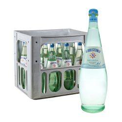 Gerolsteiner Natürliches Mineralwasser Naturell 12 x 0,75L Glas gastro