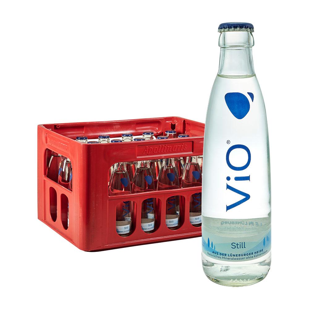 Vio Still 24 x 0,25L Glas wasser