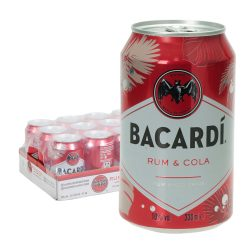 bacardi rum cola dose 12 0,33l