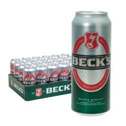 becks pils bier dose 24 x 0,5l