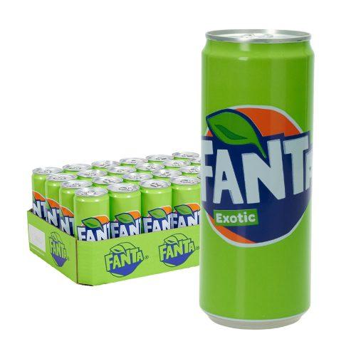 fanta exotic dose 24 x 0,33l