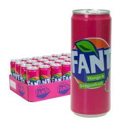 fanta mango und drachenfrucht dose 24 x 0,33l