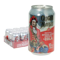 captain morgan rum und cola dose 12 0,33l