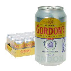 gordons gin tonic dose 12 0,33l