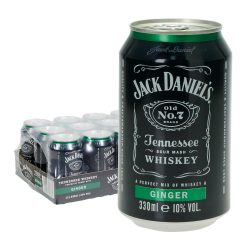 jack daniels ginger dose 12 x 0,33l