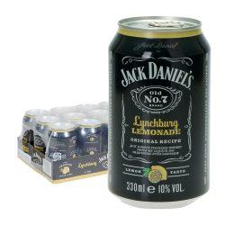 Jack daniels lynchburg lemonade dose 12 0,33l