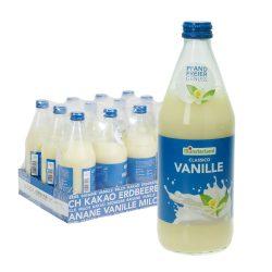 münsterland vanillemilch vanille drink glas 12 0,5l
