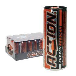 Action Regular Energy Drink 24 x 0,25L Dose