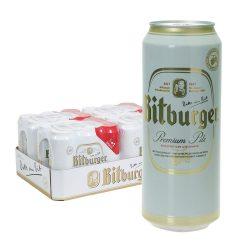 bitburger bier pils dose 24 x 0,5l