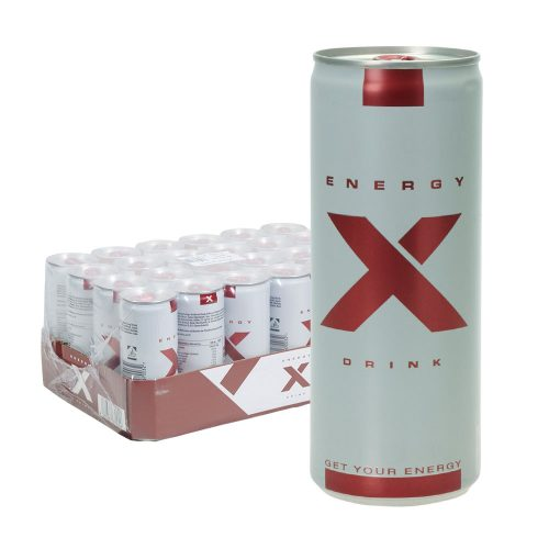 Energy X Drink 24 x 0,25L Dose
