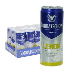 vodka gorbatschow lemon dose 12 0,33l