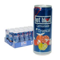 Hot Blood Lemonade Tropical 24 x 0,33L Dose