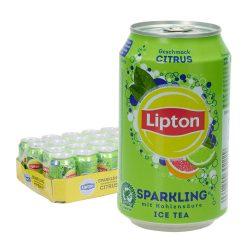 Lipton Sparkling Ice Tea Citrus 24 x 0,33L Dose