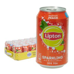 Lipton Sparkling Ice Tea Peach 24 x 0,33L Dose