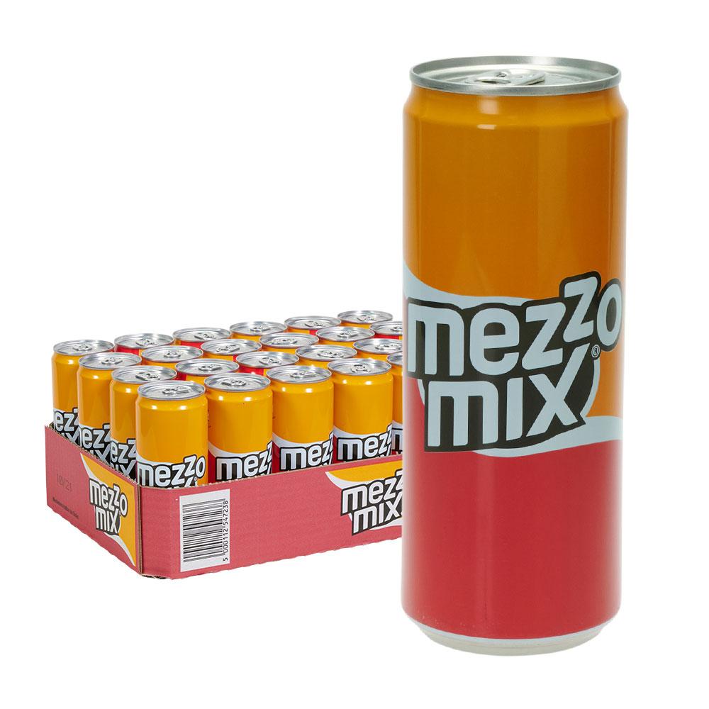mezzo mix cola orange dose 24 0,33l