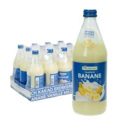 münsterland bananenmilch banane glas flasche 12 0,5l
